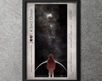 Original Giclee Art Print '2001: A Space Odyssey'
