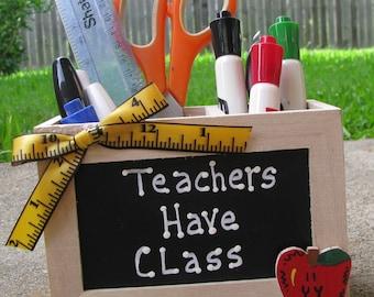 Teacher GIft  2710D Teacher Have Class Supply Box