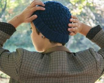 PATTERN: Blackberry Stitch Winter Hat