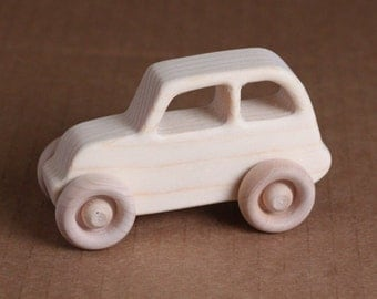 Handcrafted Mini wooden PT Cruiser 203