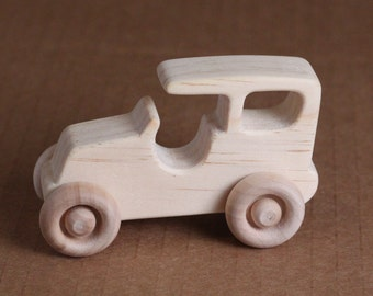 Handcrafted Large Wooden Model T 107