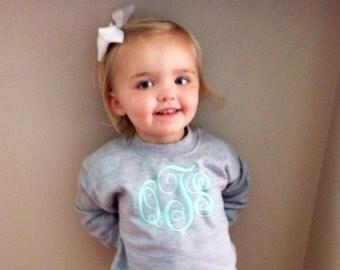 Monogrammed Infant/Toddler Sweatshirt