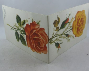 5% OFF: Needle booklet ROSE from the former GDR. Approx. 13 cm x 7.7 cm. Vintage