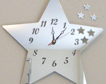 Stars out of Star Clock Mirror - 2 Sizes Available