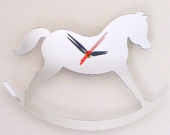 Rocking Horse Clock Mirror - 2 Sizes Available