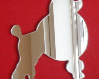 Poodle Mirror - 5 Sizes Available