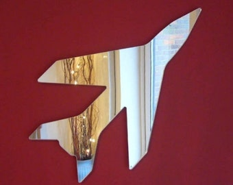 Jet Plane Shaped Mirrors - 5 Sizes Available