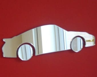 Porsche (Older) Style Shaped Mirrors - 5 Sizes Available