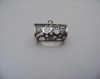 Metal Scarf Rings with Bails       Findings/039