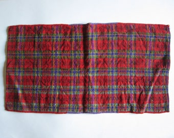 vintage hand woven pillow case