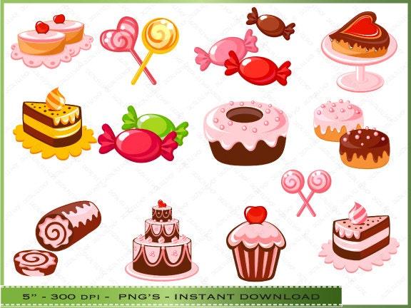 Bakery Clipart Bakery Dessert Clipart