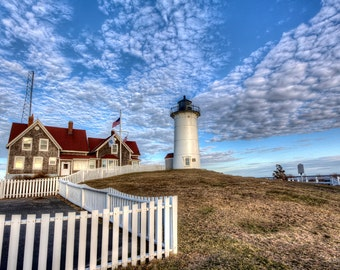 Cape Cod Photography Nobska Lighthouse Woods Hole, MA