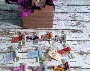 Fragrance Sampler Set - Tester Set = Pick Any 7 of Our Fragrances to Test