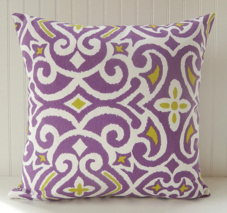 Purple Decorative Pillow Covers : Chandeliers & Pendant Lights
