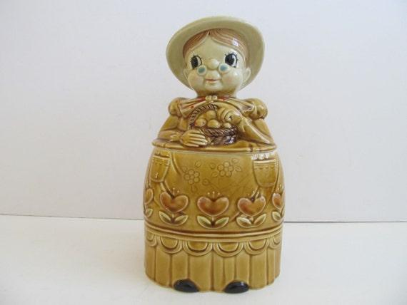 Granny Cookie Jar Cookie Jars Vintage Cookie Jars By