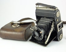 Zeiss Ikon Ikonta C 520/2 120 Folding Roll Film Camera 1931 Year 1938 Camera 6x9 Folding Camera unique rare gift, Father's day Gift