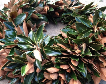Handmade Magnolia Wreath 26 inches
