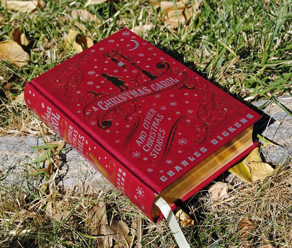 Hollow Book Safe - A Christmas Carol - Leather Bound Limited Edition