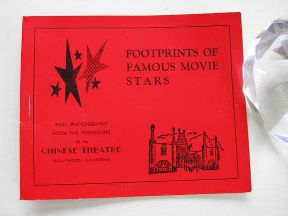 """Hollywood photos. """"Footprints of Famous Movie Stars"""" from the Grauman Chinese Theatre"""