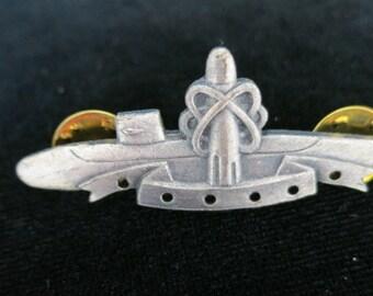Vintage Silvertone Submarine Pin