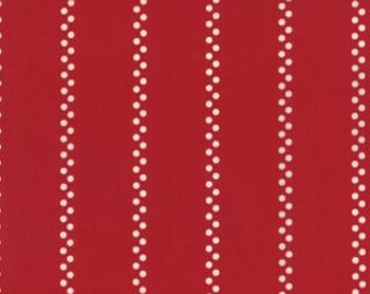 A la Carte Bistro Stripe by American Jane for Moda Fabrics, Red 2166513