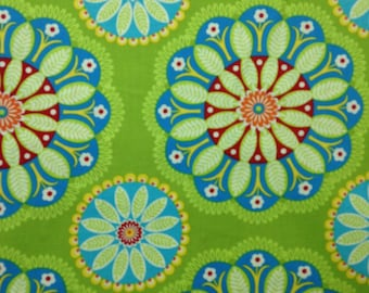 1 yard 100% cotton fabric by Michael Miller in Kaleidoscope pattern