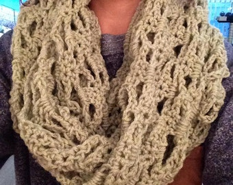Lace Infinite Scarf