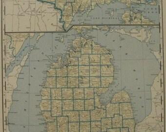 Massachusetts Connecticut Rhode Island Map Michigan Map Usa State Maps United States Wall
