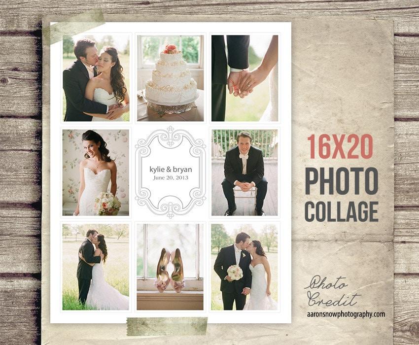 Wedding Collage Album Wedding Photo Collage