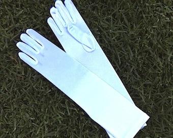 children's Satin Gloves
