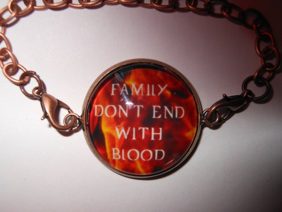 Supernatural Quotes Family Don T End With Blood: Supernatural Family Don't End With Blood By FantasticFrippery