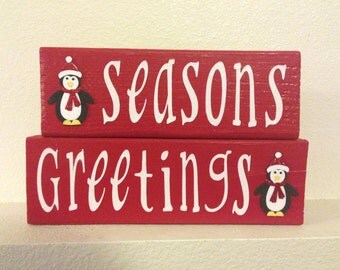 Seasons Greetings Christmas Decoration