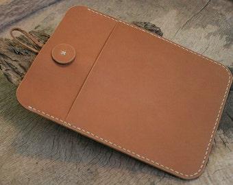 SALE iPad Mini Case, iPad Mini Cover, iPad Mini Sleeve, Leather iPad Case with Pocket, Tablet Case, E- Reader case