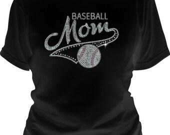 Baseball Mom Sequin T-Shirt