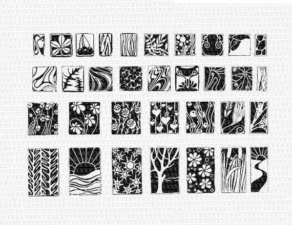 33 dekorative jugendstil motive druckf hige grafiken download. Black Bedroom Furniture Sets. Home Design Ideas