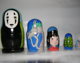 Spirited Away nesting doll