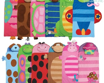 Personalized Nap Mats / Stephen Joseph / Boutique Blankets / Kids Sleeping Bag