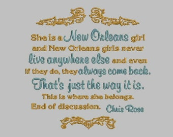 GG1193 New Orleans Girl