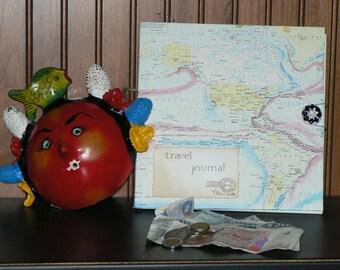 Custom Travel Journal, Handmade Travel Journal, Travel Memory Journal,  Unique Travel Journal, Travel Adventure Journal, Adventure Journal
