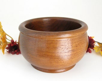 Turned Wood Bowl in Mora