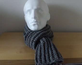 hand knitted man's scarf