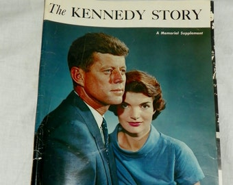 Vintage The Kennedy Story A Memorial Supplement from The Philadelphia Inquirer December 8, 1963