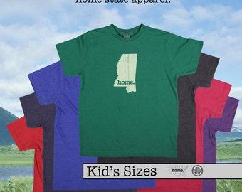 Mississippi home tshirt KIDS sizes The Original home tshirt