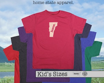Vermont home tshirt KIDS sizes The Original home tshirt