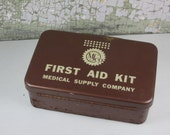 Vintage Medical Supply Company First Aid Kit