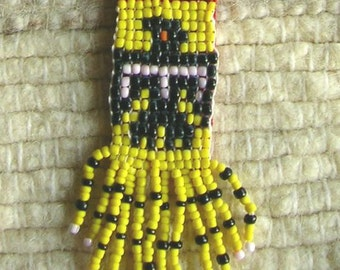 Native American inspired beaded Necklace HANDMADE!