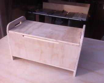 Plywood Storage Chest. 12 x 14 x 48