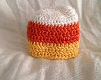 Candy Corn Beanie (baby/toddler)