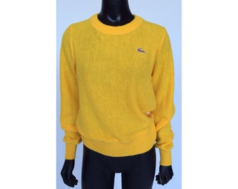 """Vintage 70s """"Izod Lacoste For Her"""" Classic Alligator Sweater"""