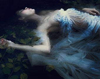 SALE Portrait,.Figure Photograph,Fine Art Photography, Color Portrait,Contemporary Art